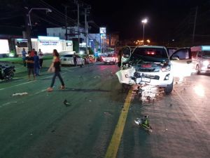 German motorcyclist dies on Patong Hill. The Kathu police were notified of the accident on Monday night on Phra Baramee Road on the Kathu side of the