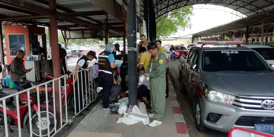 Homeless man killed near Bangkok railway station