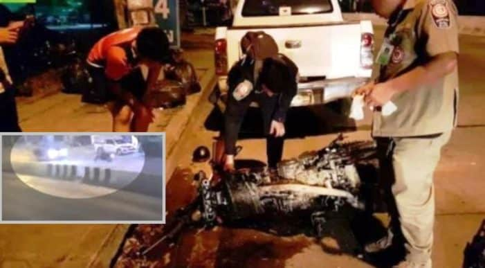 Video: Police release video footage of FATAL CRASH in Chiang Mai