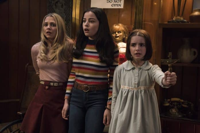 Review: In Latest 'Annabelle,' a Babysitting Gig Goes Awry