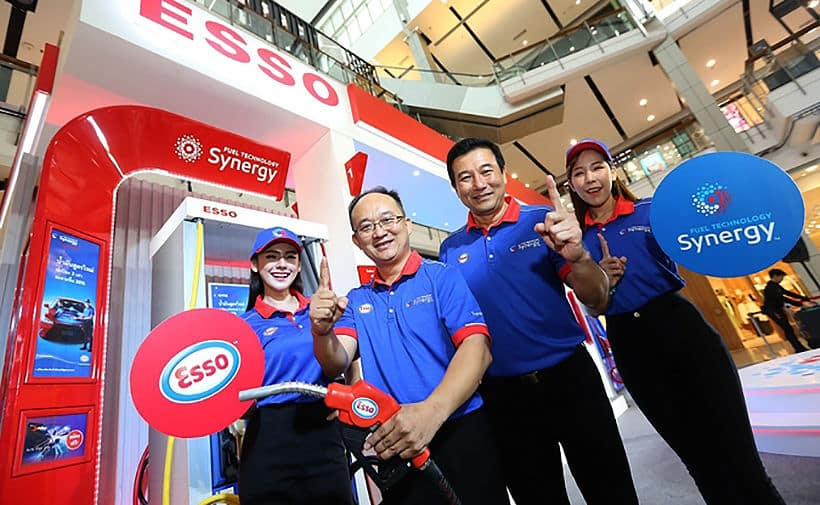 Esso's pumps out cleaner fuels and petrol station makeovers