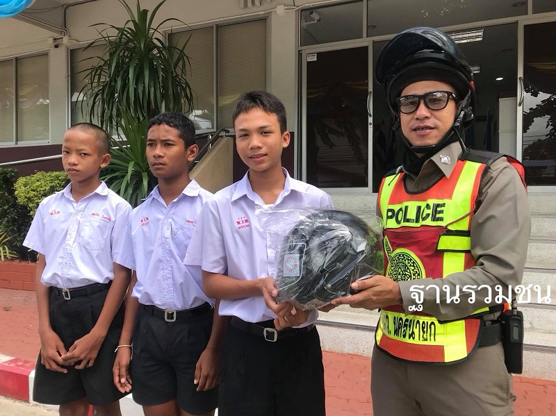 'Pothead' Motosai Student Gets Warning, New Helmet