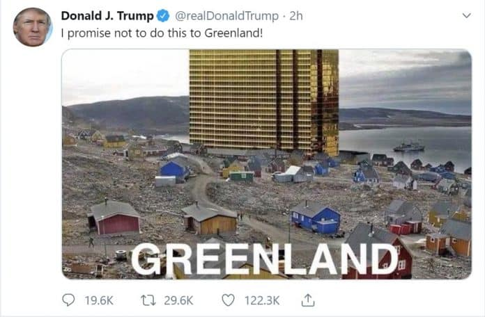 Trump Cancels Denmark Visit Because He Can't Buy Greenland