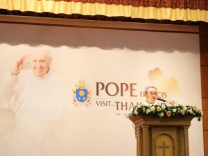 Pope Francis to Visit Thailand on Nov. 20 to 23