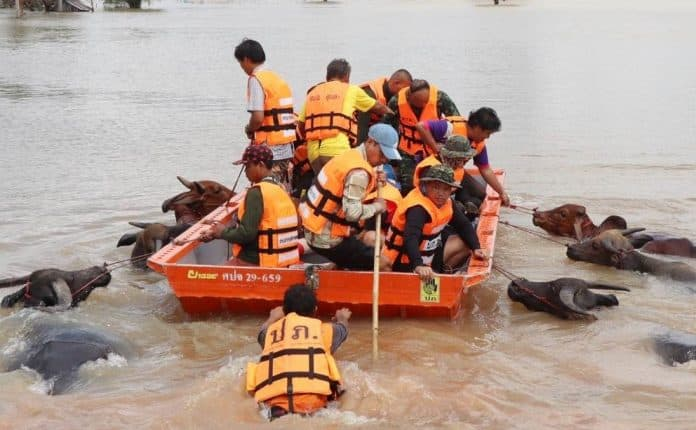 #SaveUbon: Netizens Rally for Drowned Isaan Province