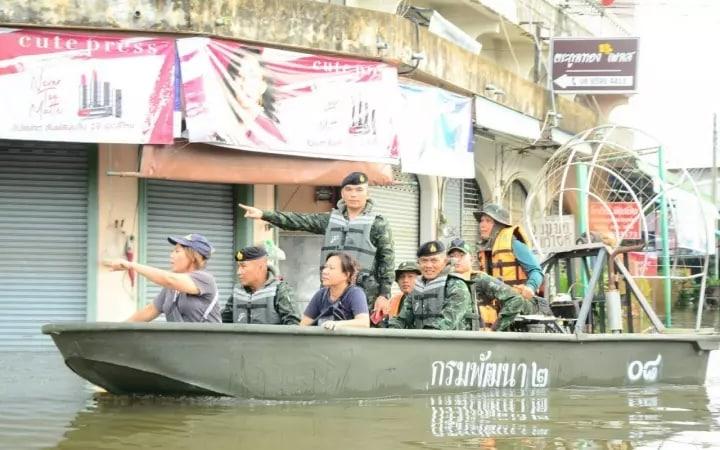Ubon flooding still critical