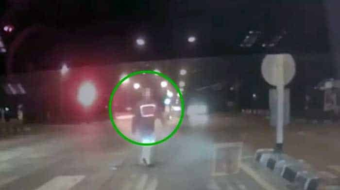 Video: ARMED car-jacking attempt in Chiang Mai