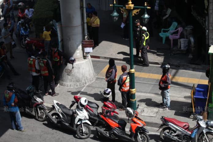 3-year ban proposed on sidewalk-hogging motorcycle taxi drivers