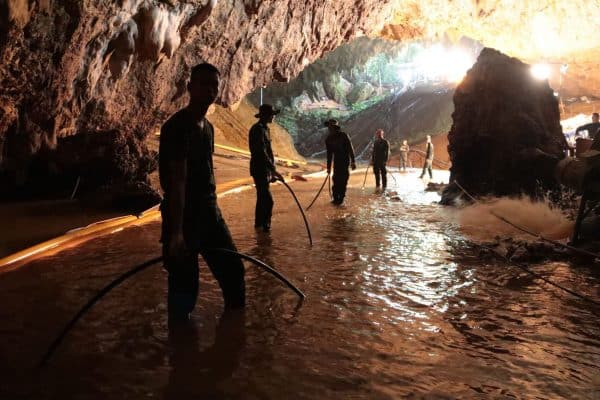 Director promises dank thrills in Tham Luang rescue saga