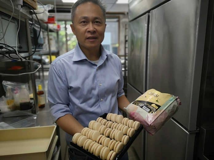 Laotian Ex-Royalty Whips Up Croissant and Macaron with Passion in Bangkok