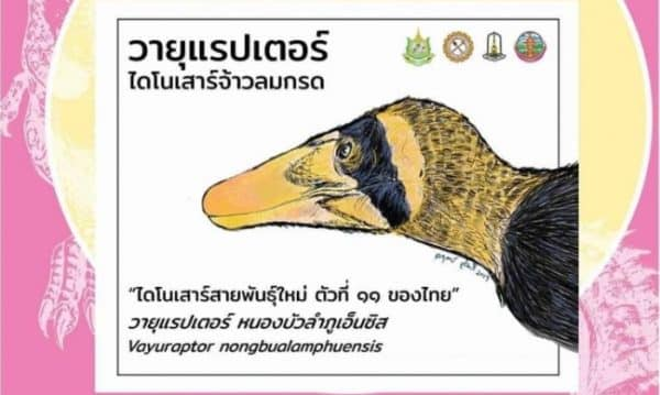 Fossil of 11th species of dinosaur found recently in NE Thailand
