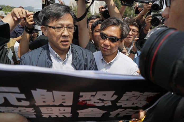 Pro-Beijing Lawmaker Stabbed While Campaigning in Hong Kong