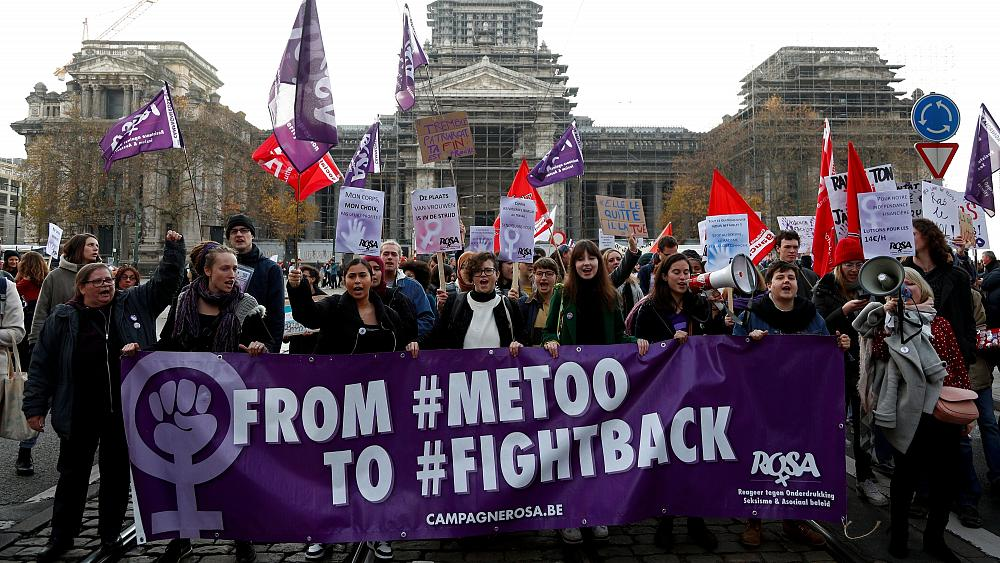 Violence against women: EU parliament set for debate after thousands-strong street protests