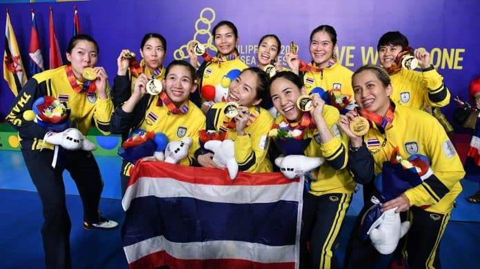 Thai Women's Badminton Wins Four Consecutive Golds at SEA Games