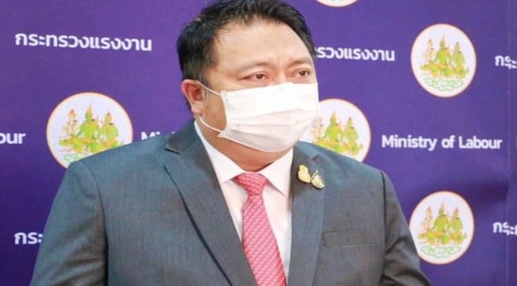 Thai government does not discriminate against foreigners in any way, says Labor Minister