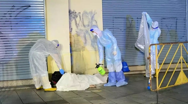 Four allegedly homeless men have been found dead on the streets of Bangkok, believed to be victims of the Covid19 virus