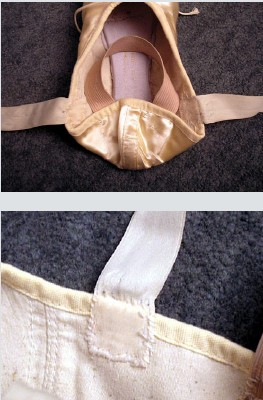 How To Sew Ribbons On Pointe Shoes : ribbons, pointe, shoes, Pointe, Ribbons, Pattern-Making.com