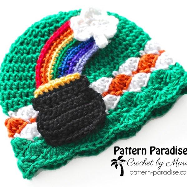 FREE Crochet Pattern – Pot 'o Gold