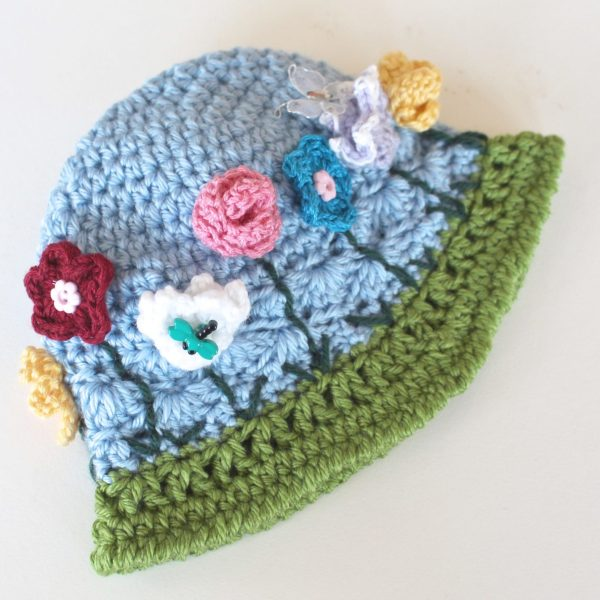 FREE Crochet Pattern – Chameleon Hat – May Flowers