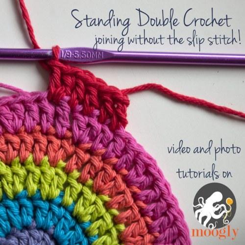 standing double crochet moogly