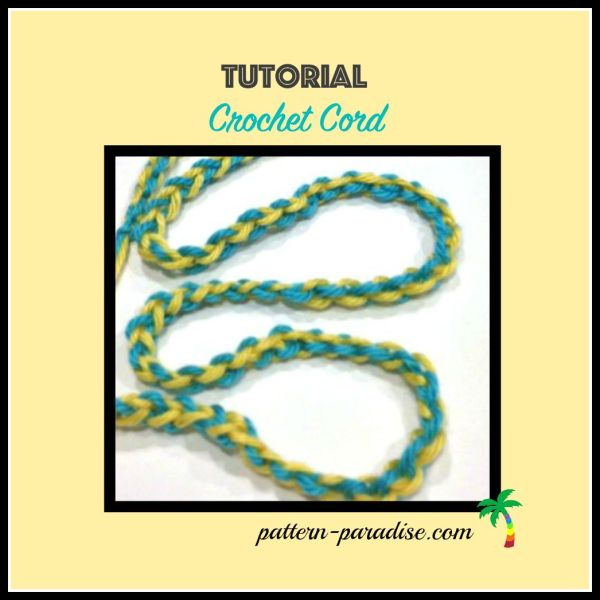 Tutorial: Crochet Cord With Two Colors