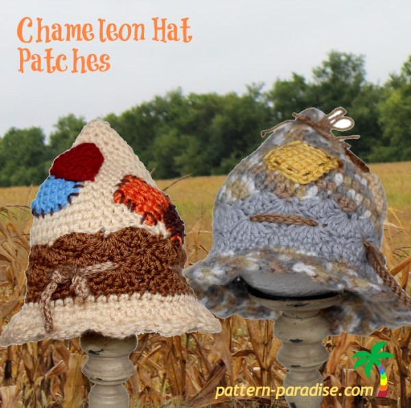 FREE Crochet Pattern Patches Pattern Paradise