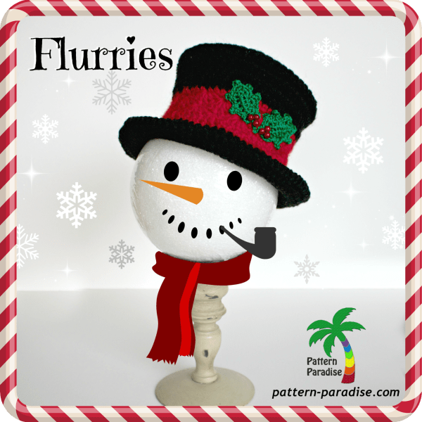 FREE Crochet Pattern – Flurries & a Giveaway!