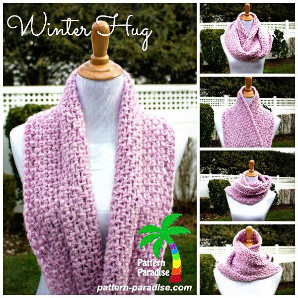 FREE Crochet Pattern – Winter Hug