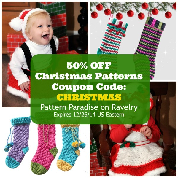 Christmas Crochet Patterns 50% OFF