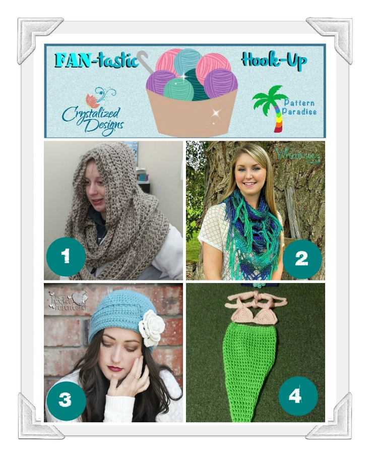 FAN-tastic Hook Up #16 by pattern-paradise.com and crystalized-designs.com