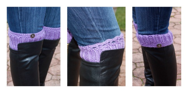 Ribby Boot Cuffs
