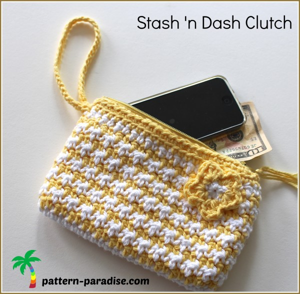 FREE Crochet Pattern – Stash 'n Dash Clutch