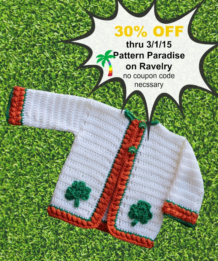 Cherise Cardigan Crochet Pattern by Pattern Paradise