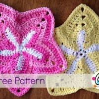 Starfish Dishcloth by Snappy Tots