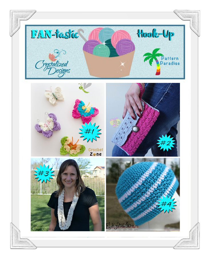 Fan-tastic Hook Up Link Party by Pattern-Paradise.com