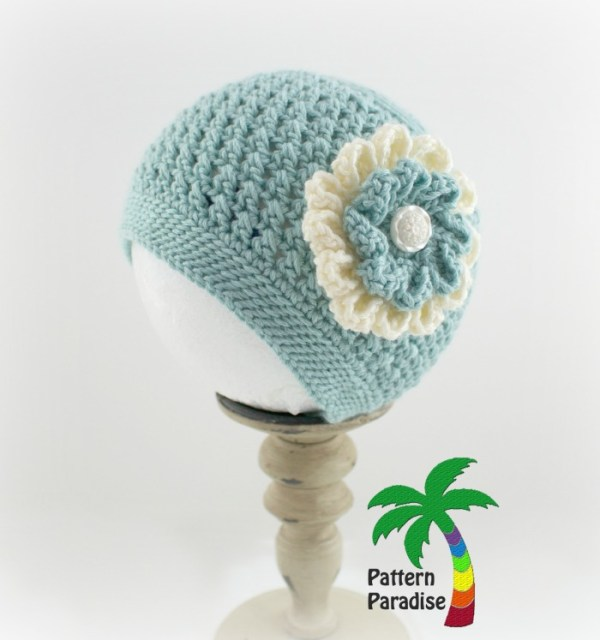 Crochet Pattern X Stitch Challenge Julia Hat by Pattern Paradise