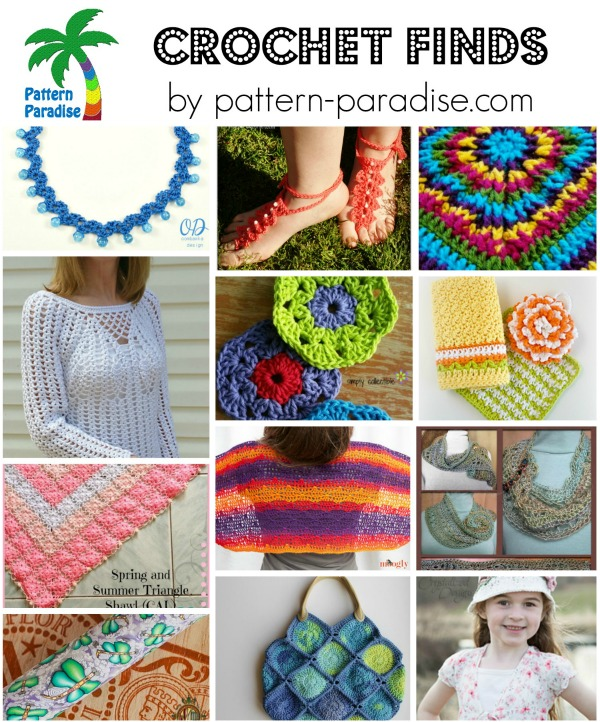 Crochet Finds by Pattern-Paradise 4-20-15