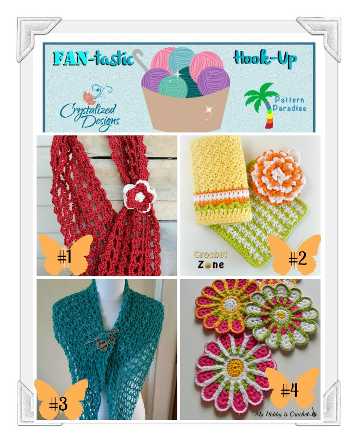 FAN-tastic Hook-Up Link Party #31 on Pattern-Paradise.com