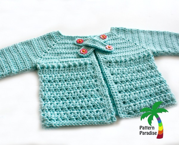 X St Cardi Crochet Pattern by Pattern-Paradise.com 2983