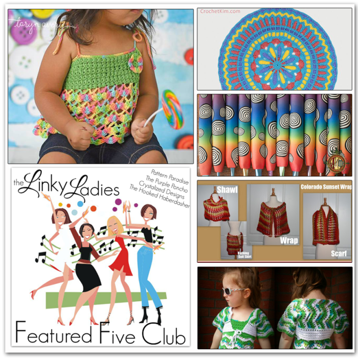Linky Ladies Community Link Party #6 on Pattern-Paradise.com