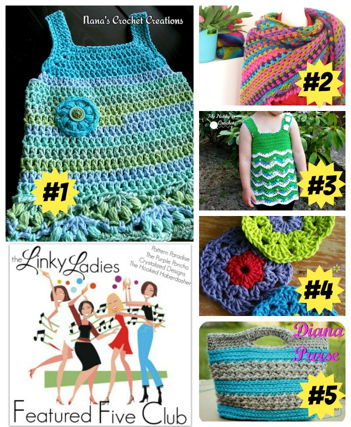 Linky Ladies Link Party #5 on Pattern-Paradise.com