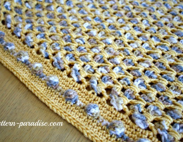 Free Crochet Pattern Soothing Pebbles Rug