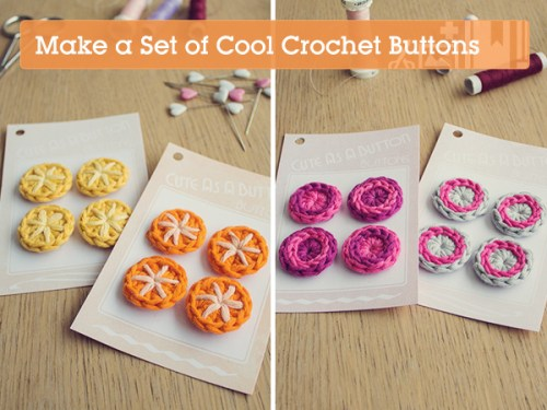 Crocheted Buttons by A Creative Being