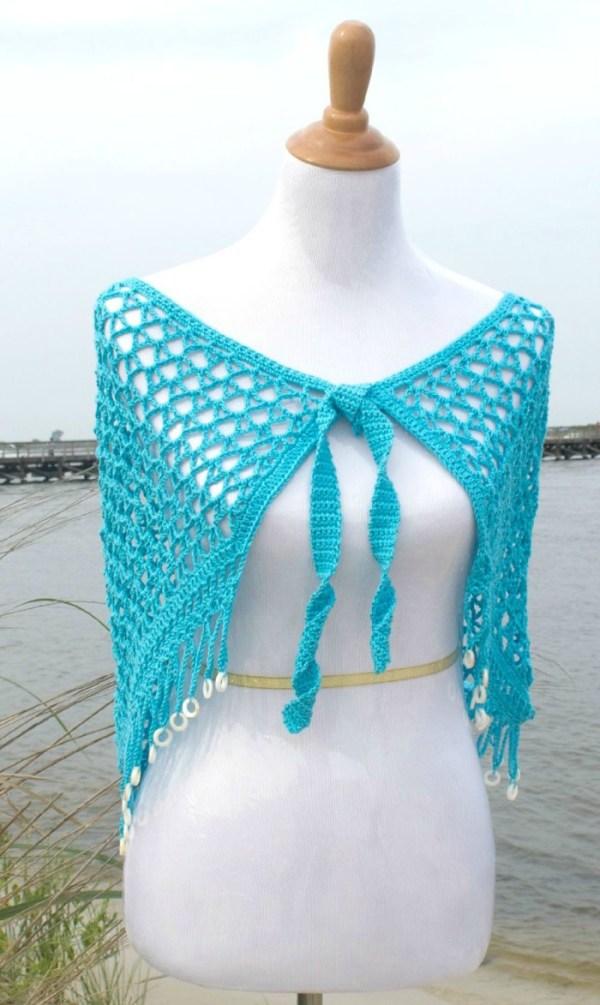 Reggae Dreams Wrap Crochet Pattern by Pattern-Paradise.com