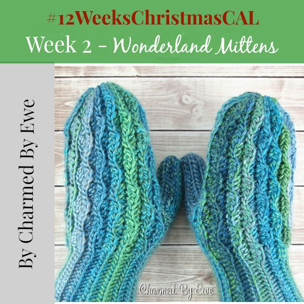 Wonderland Mittens 12 weeks of christmas blog hop CAL