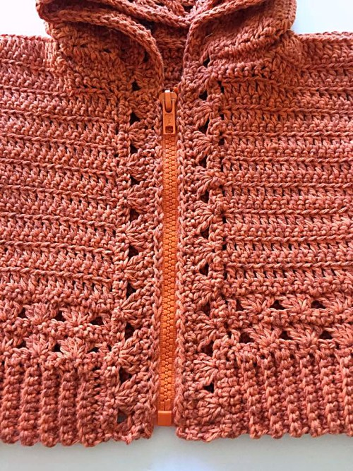 #10 Installing a Zipper in a Crocheted Garment by Pattern-Paradise.com