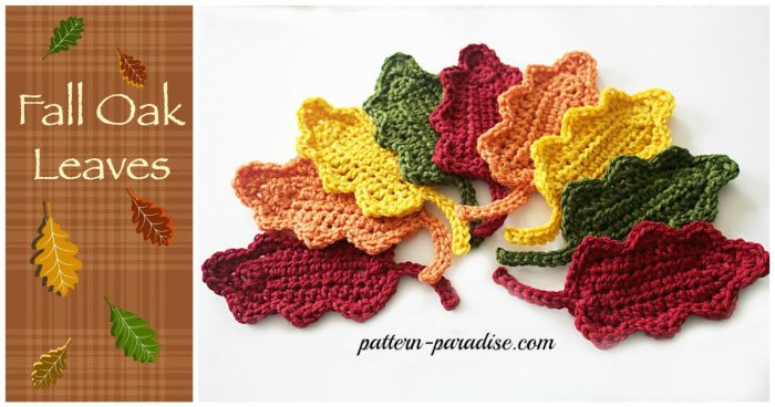 Fall Oak Leaves by Pattern-Paradise.com