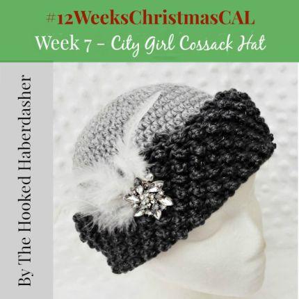 12 weeks of christmas blog hop CAL Hat