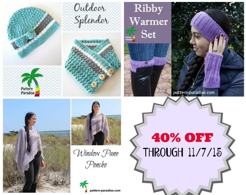This Week's Sale on Pattern-Paradise.com