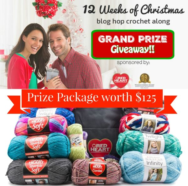 12 Weeks of christmas on Pattern-Paradise.com